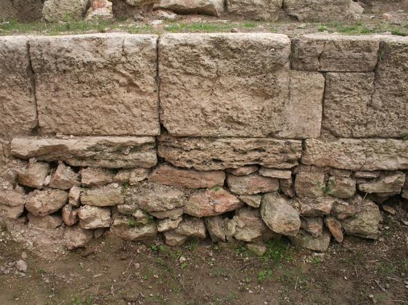 Zid de incinta de epoca elenistica